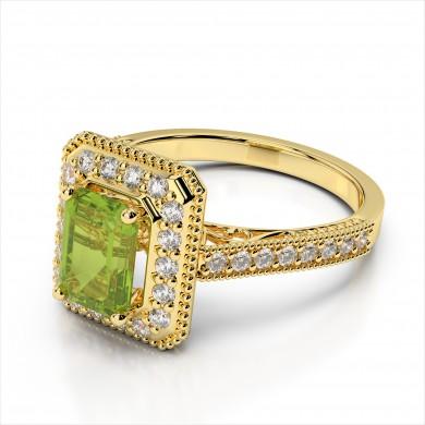 R3420 Emerald Cut Center