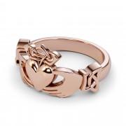 Pure Gold or Platinum Irish Claddagh Ring