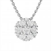 Captivating Diamond Cluster Pendant