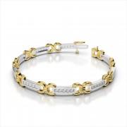 Diamond Figure '8' Bracelet