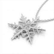 Diamond Wintertime Pendant