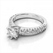 Amouria Prong Set Diamond Engagement Ring