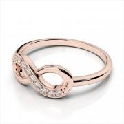 Classic Diamond Infinity Ring