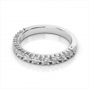Amouria Prong Set Diamond Wedding Band (AMR3054)