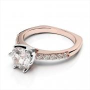 Euro Shank Diamond Engagement Ring