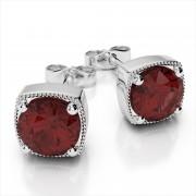 Fancy 6mm Gemstone Earrings