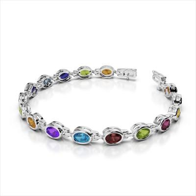 Classic Gemstone Bracelet
