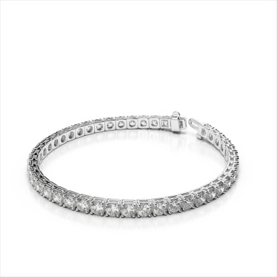 11.50 ctw. Classic Four Prong Bracelet