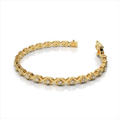 Illusion X and Diamond Bracelet