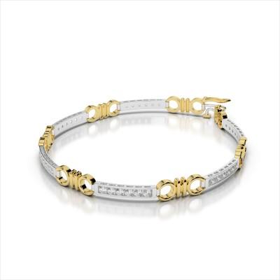 Double Circle Channel Bracelet