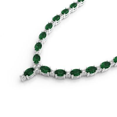 Diamond & Gemstone Necklace