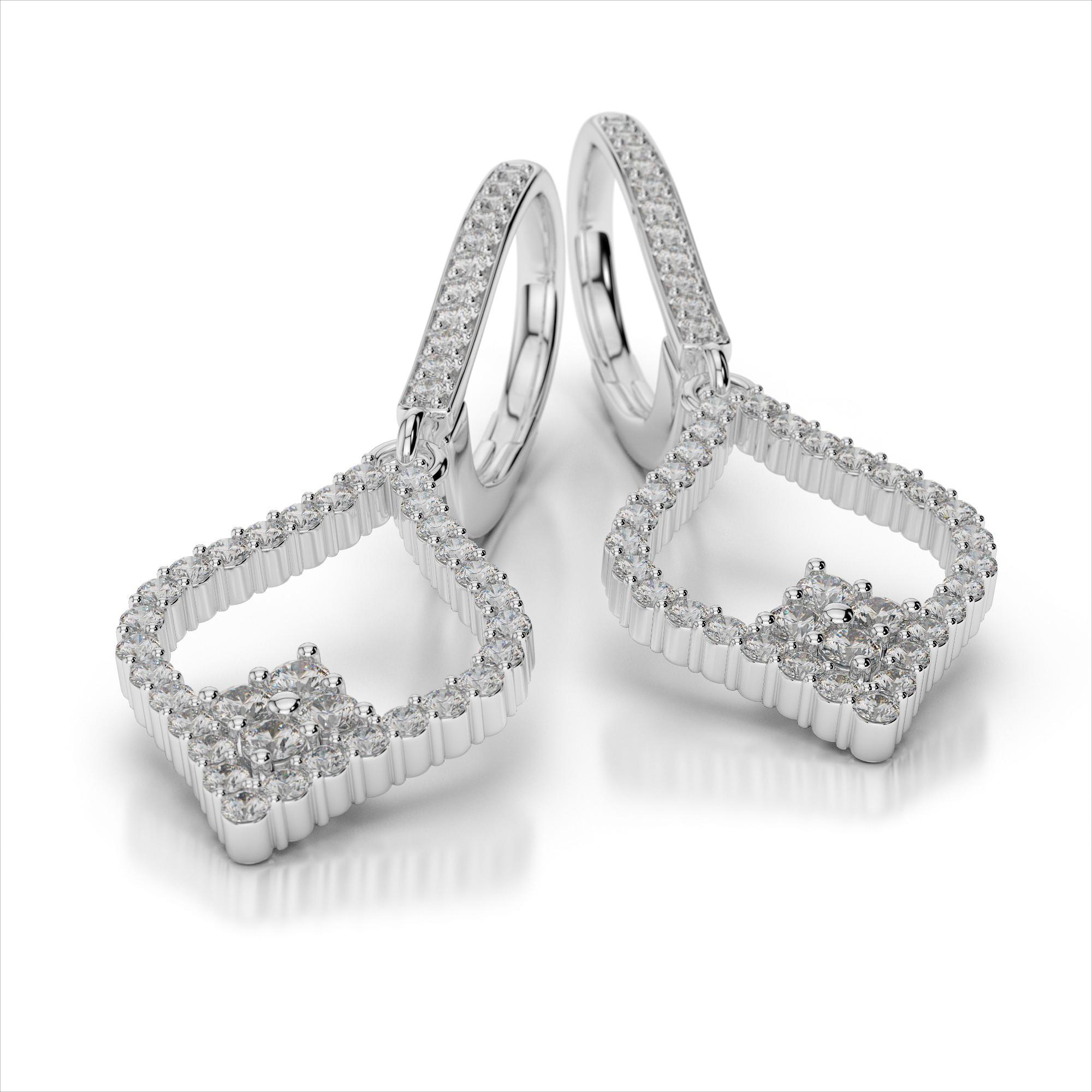 Fancy Diamond Earrings
