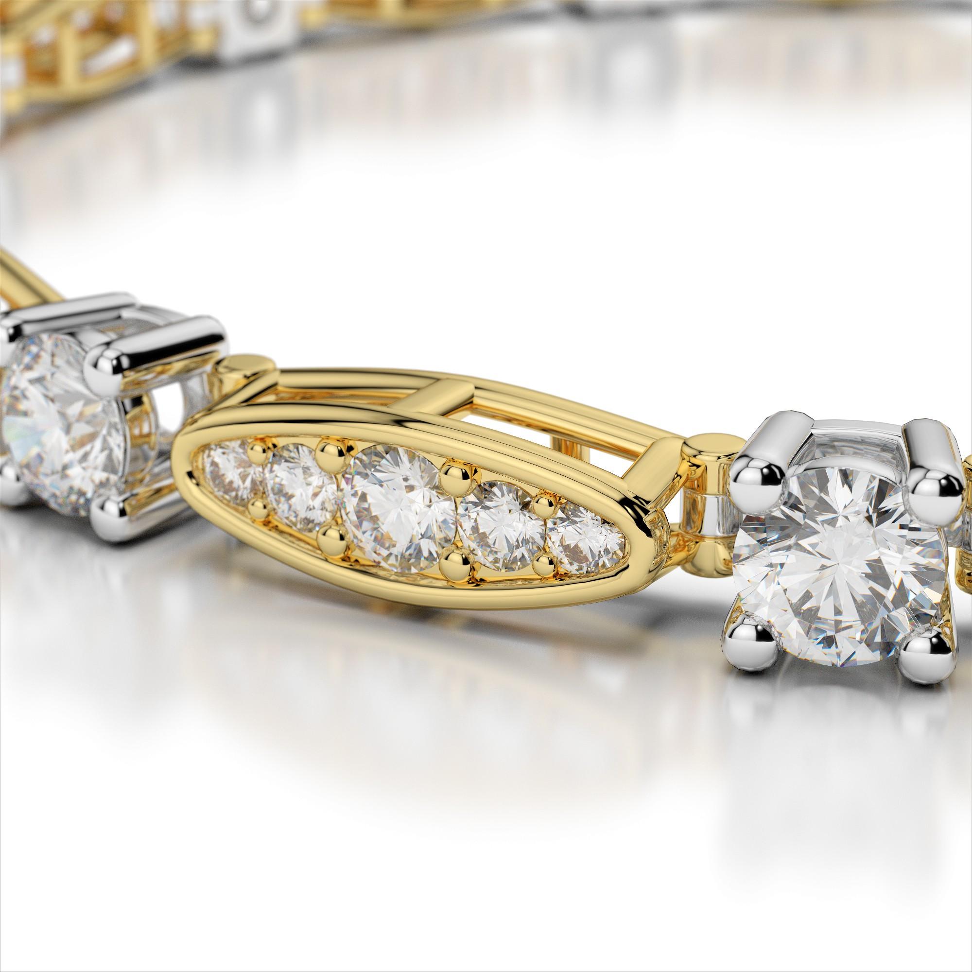 Diamond Pea Pod Bracelet