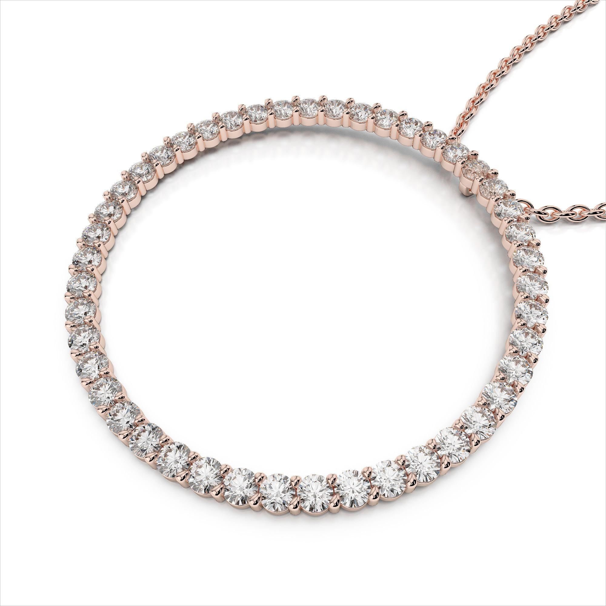 Large Diamond Circle